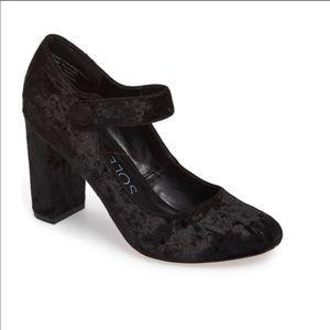 Sole Society Velvet / Velour Heels
